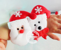 Wholesale 22 cm Christmas Eve Christmas ornaments Christmas decoration toy snowman old antlers pat circle wrist DHL free