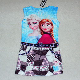 Kids Boho Clothes Wholesale Frozen OLAF Shirts Baby Kids