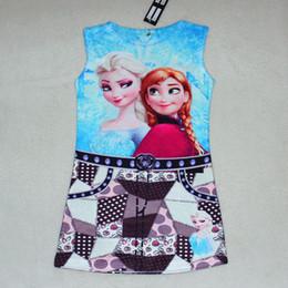 Kids Boho Clothes Wholesale Frozen OLAF Shirts Baby Kids