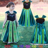 Frozen Anna costume princess dress Xmas costume summer girls...