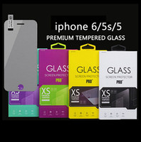 Wholesale 0 mm H D Tempered Glass Screen Protector for iphone s C Iphone6 plus Samsung galaxy S3 S4 S5 S6 edge Note HTC ONE M9