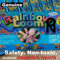 Cheap Zorn Store-Rainbow Loom 2.0 Bands with Metal Hook (Safe and nontoxic)