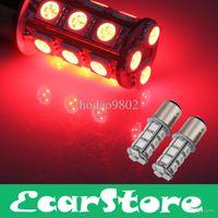 Wholesale 2x1157 SMD Red LED Flash Car Brake Tail Rear Signal Stop Light Lamp Bulb