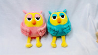 Wholesale high quality owl plush toys dolls gift children baby for crane game machine inches cm