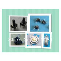 Cheap 100pcs 5 types Momentary Tact Tactile Push Button Switch SMD Assortment Kit Set