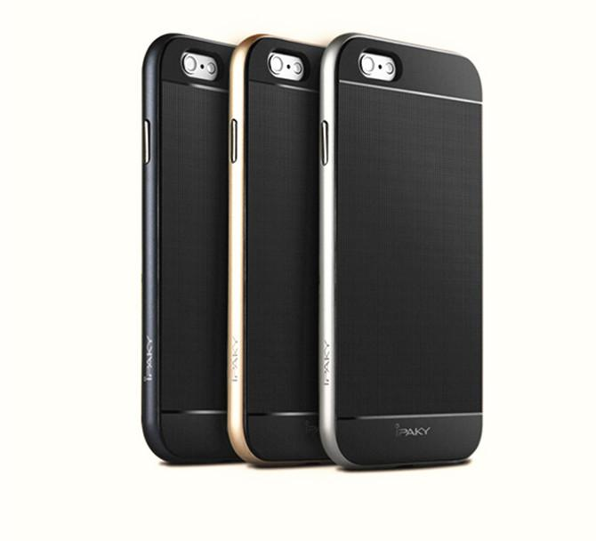Buy Hybrid ipaky Soft TPU Frame Bumper Gel Silicone Rubber Case Cover Skin Shell Protector Iphone 6 4.7inch & iphone plus 5.5 inch