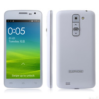 Wholesale android phones Elephone G3 Android MTK6572W GHz Inch IPS Screen G GPS Dual SIM Card Smartphone With Free Gift