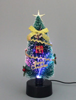 Wholesale Golden Christmas Tree Party Decoration lighted Christmas Crafts Festive Party Supplies Christmas Decorations Holiday Decorations Promotion