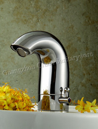 Wholesale Automatic warm water faucet thermostatic tap Eye Faucets integrated automatic faucet solenoid valve built in faucet