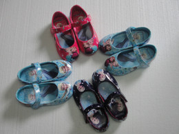 Wholesale 1pairs frozen shoes ballet flats made of nylon oxford colors for little girls very nice gift for birthday T T