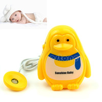 Cheap Free Shipping Cute Adult Baby Bedwetting Enuresis Urine Bed Wetting Wet Diaper Alarm +Sensor
