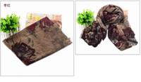 Wholesale Factory Supply Scarves Flower Print Scarves Shawl Winter Desigual Scarf Pashmina Hijab Echarpes