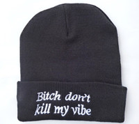 acrylic yarn brands - 10pcs new brand designer caps Winter fashion hats solid color knitted hats for men and women hats beanie with words