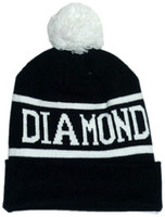 Wholesale Free ofbrand designer knitted Beanies hats Diamond Supply Co Beanie Hat Skullies hat man woman unisex Men Women Winter Knitted Cap