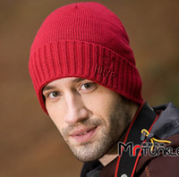 Wholesale new come fashion fall winter woven wool cap men hat