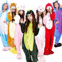 Wholesale Halloween Costume Winter Autumn Winnie The Pooh Kigurumi Pajamas Animal Suits Cosplay Outfit Adult Garment Cartoon Jumpsuits Unisex Anima