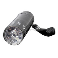 Wholesale LED Mini Flash Ultra Bright light Torch Black hv3n