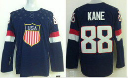 Wholesale 2014 Olympic USA Olympic USA HNavy Blue Field Hockey Jersey Team USA Jerseys Hot Sale Players Sports Jerseys Athletic Apparel Mix Order