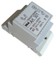 Wholesale 230VAC gt VAC DIN rail transformer mA output current Thermal resistor protection automatically recover also surface mounting install