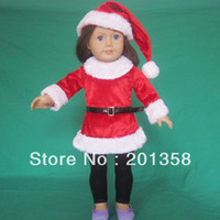 Wholesale Doll Clothes outfit wedding party xmas wear fits for quot American Girl pieces