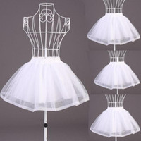 Wholesale New Simple Short None hoop Petticoat Sheer Mesh Hoopless Underskirt Organza Gauze Voile Crinoline