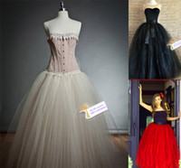 Wholesale High Quality layers Colors Women Gauze Mesh Tulle Tutu Long Skirts Puffy For Princess Skater Skirt Midi Wedding Prom Ball Gowns Saias