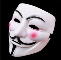 v mask - Party Masks V for Vendetta Anonymous Guy Fawkes Mask Halloween Cosplay