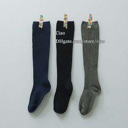 Wholesale Korean Best Socks Spring Autumn Knit Knee High Socks Girl Dress Children Socks Kids Sock Children Clothes Kids Clothing Girls Cotton Sock