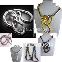 bendy necklace lot - by Express Guaranteed mm cm Flexible Bendy Snake Bendable Necklace Chain bracelet Factory Supply