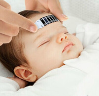 baby testing - Piece New Child Kid Baby Forehead Test Temperature Head Strip Thermometer Fever Body Baby