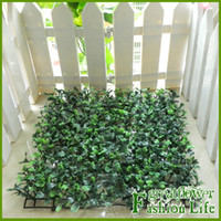 artificial grass mat - x cm VIA EMS Artificial Milan turf Boxwood Mat Chrismas decoration topiary faux grass