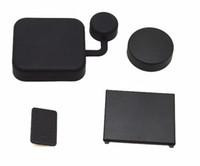 Wholesale 4 in Gopro Accesories For Gopro Hero Camera Lens Cover Housing Lens Cover Replacement Battery Door Side Door