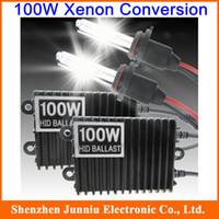 Wholesale 12V W Xenon Conversion Kit HID Xenon Kit K Xenon Hid Kit Single Beam for H1 H3 H4 H7 H8 Set