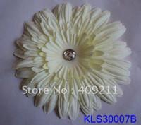 Wholesale KLS30007B cm inch dia felt Daisy hair flower EMS hot sale wedding flower flower head