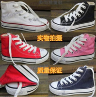Wholesale 2014 new all brand high low kids sneakers boys girls star shoes canvas shoes