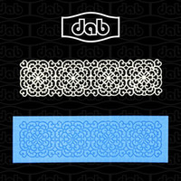 Wholesale DAB flower instant lace mold cake mold silicone baking tools kitchen accessories decorations for cupcake fondant cakes TS40004