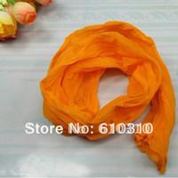 Wholesale orange color silk socks net flower accessories for DIY