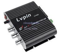 Cheap Drop shipping 2014 Mini Hi-Fi Audio Stereo Digital Car Amplifier 200W USB AUX FM MP3 iPod CD player Car Audio Amplifier 18717