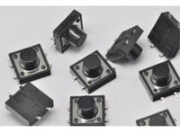 Cheap Free Shipping 500PCS Tactile Push Button Switch Momentary Tact 12*12*8mm