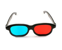 Wholesale 2014 fashion new arrive d round red blue glasses Video Glasses for women men best gifts freeshipping