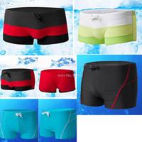 Cheap Mens Swimwear Men Swimsuits Beach Sea Boxer shorts sexy 2014 New Board Surf Swimming Trunks for Men B18 SV002846