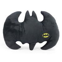 Cheap Free Shipping High Quality The Dark Knight Rises Batman Pillow Animal Cartoon Plush Doll Toys 32*42cm Christmas Gift