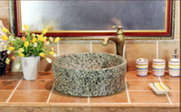ceramic art basin - Jingdezhen ceramic art basin basin basin bathroom basin stage classical inky straight opening hand basin