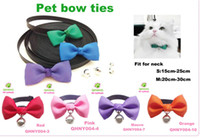 Wholesale Solid Color Bow Ties Collars For Small Dogs NEW Pets Products Supplies