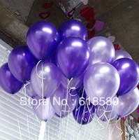 Wholesale Birthday Party Marry Circle Balloon Arch Inch Round Latex Pearl Balloons