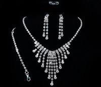 Cheap Earrings & Necklace bracelet bracelet Best Crystal, Rhinestone Brass,Copper bracelet and ring set