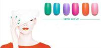 Feuille de métal arts Avis-Gros - 50 x Feuille 3D Design Astuce Nail Art Sticker Decal Manucure Mix Couleur Sticker Zipper Livraison gratuite NSZ50