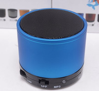 Wholesale S10 wireless mini bluetooth speaker with Strong bass Support TF Card For Phones support answer calling PA
