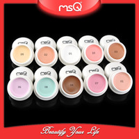 Wholesale Camouflage Concealer highlight Shimmer Matte Makeup Cosmetic Palette Kit Make Up Foundation Powder Set Tool MSQ color Minerals Primer New