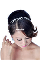 Headbands White African Hair Accessories Silver Plated Flower Design Fashion Hair Jewelry For Women Headwear Free Shipping